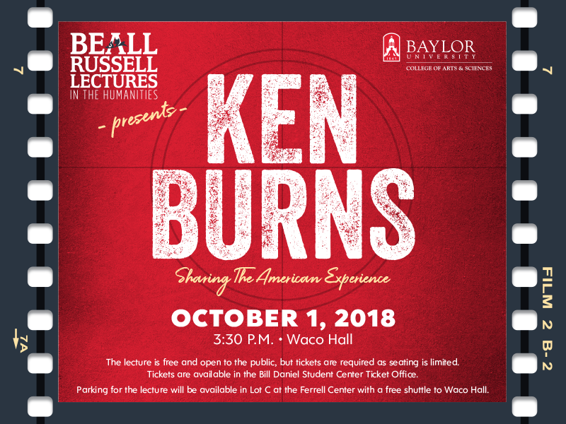 Ken Burns - Sharing the American Experience