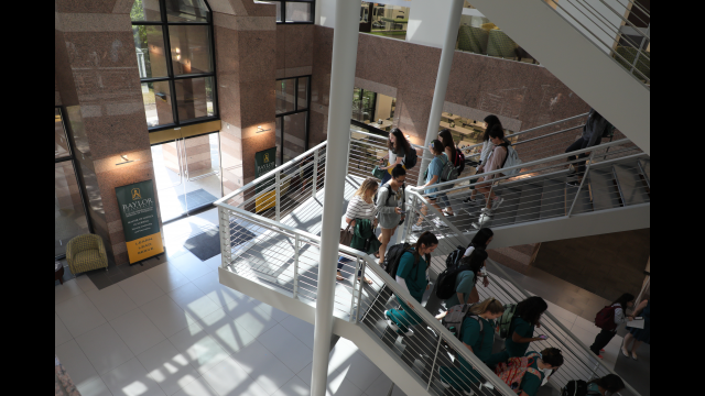 LHSON atrium staircase