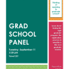 Grad School Panel, Hosted by Phi Alpha Theta