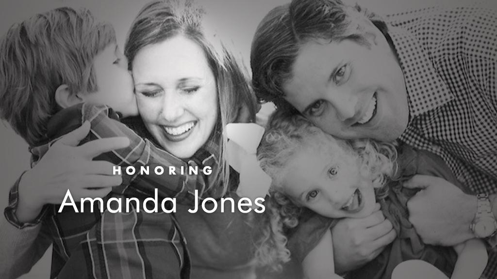 In Memory of Amanda Jones