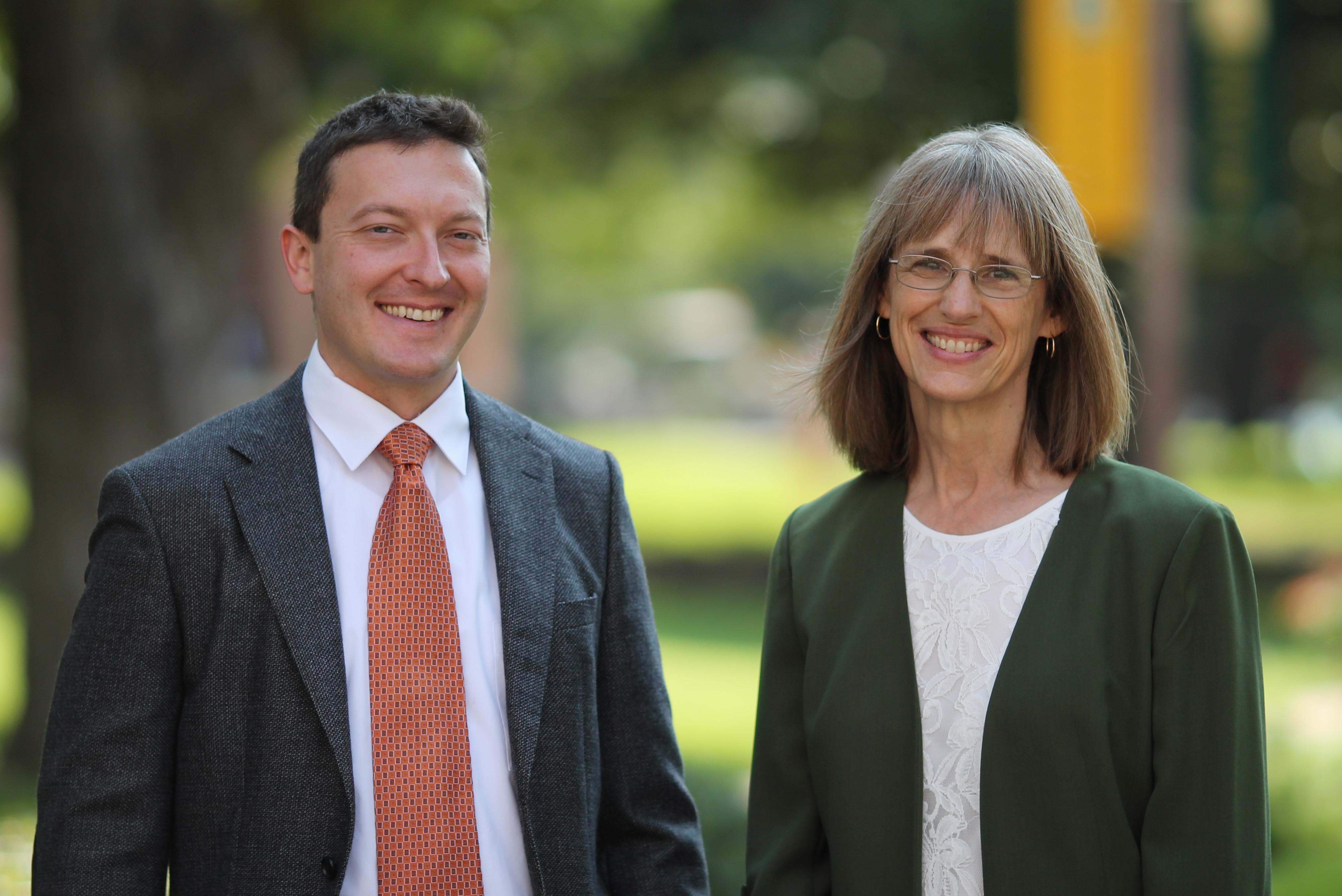 Dr. Nathan Elkins and Dr. Tamarah Adair