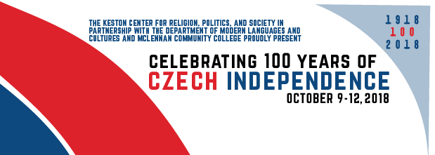Banner announcing celebration of 100 years of Independence