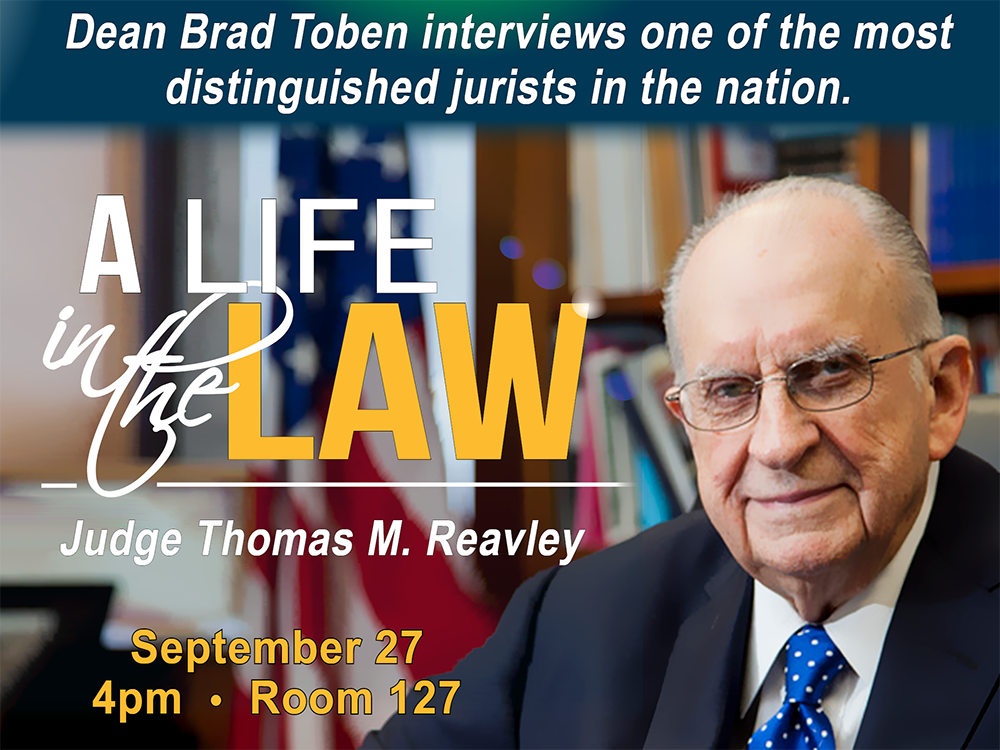 A Life in the Law - A Conversation with Judge Thomas Reavley