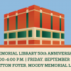 Baylor Libraries Hosts 50th Anniversary 'Birthday Party' for Moody Memorial Library
