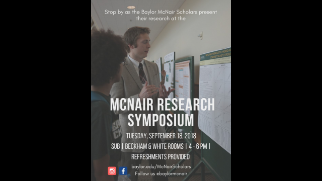 McNair Symposium