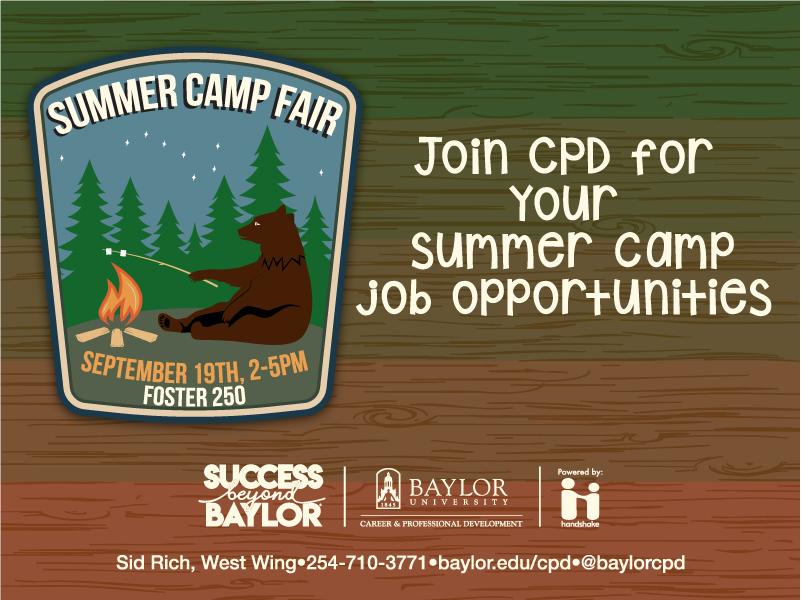 Summer Camp Job Fair