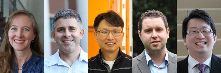 Drs. Lorin Matthews, Bryan Shaw, Seung Kim, Caleb Martin and Howard Lee