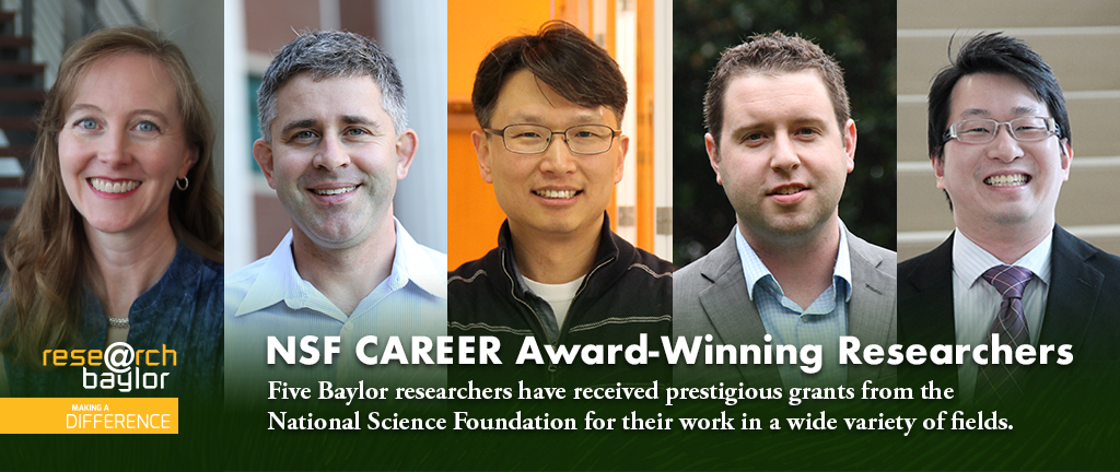 NSF Career award-winning researchers