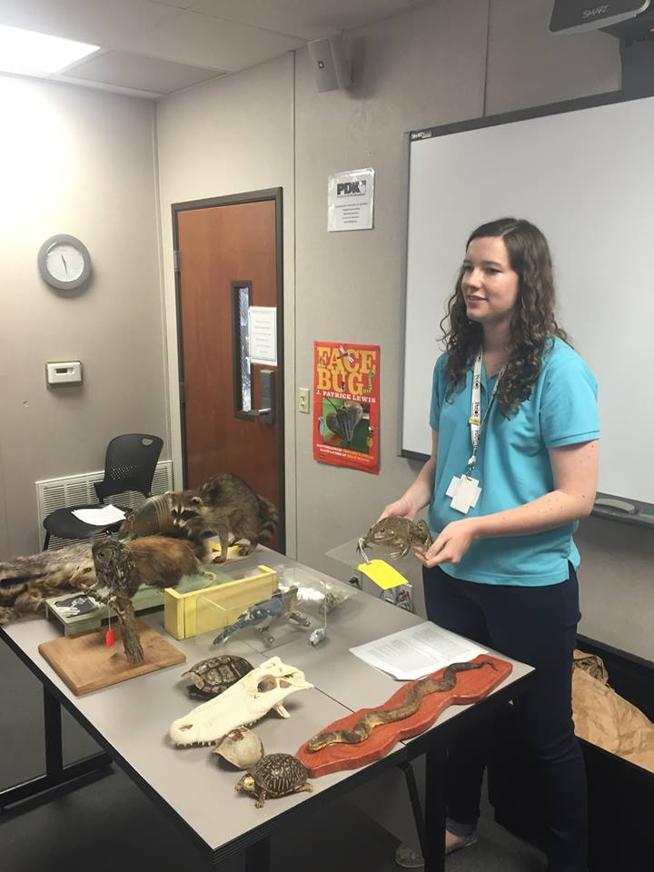 Emily Clark (MA 2016) completed her capstone experience at the Perot Museum.