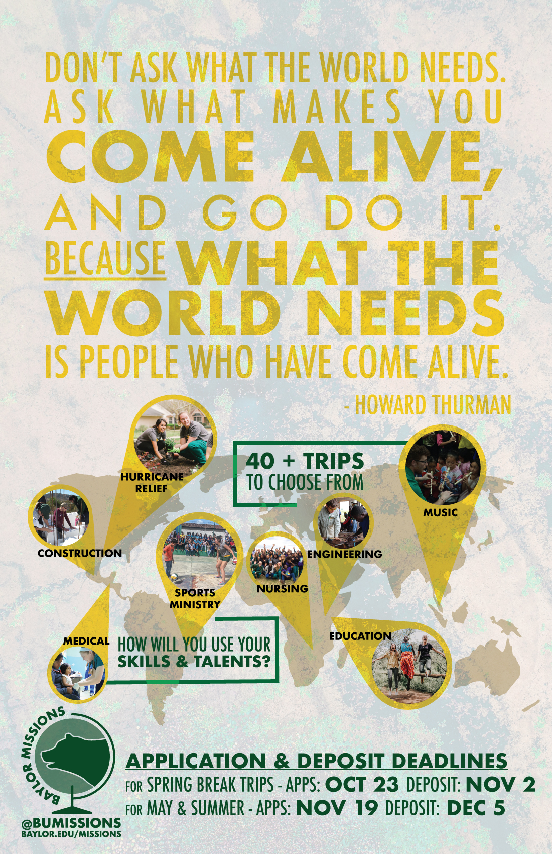 2018 2019 International Mission Trips Baylor Missions Baylor