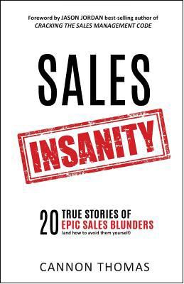 Book cover of Sales Insanity