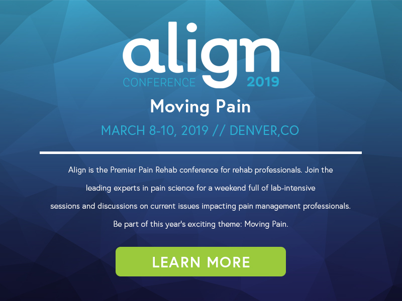 Align Conference March 2019
