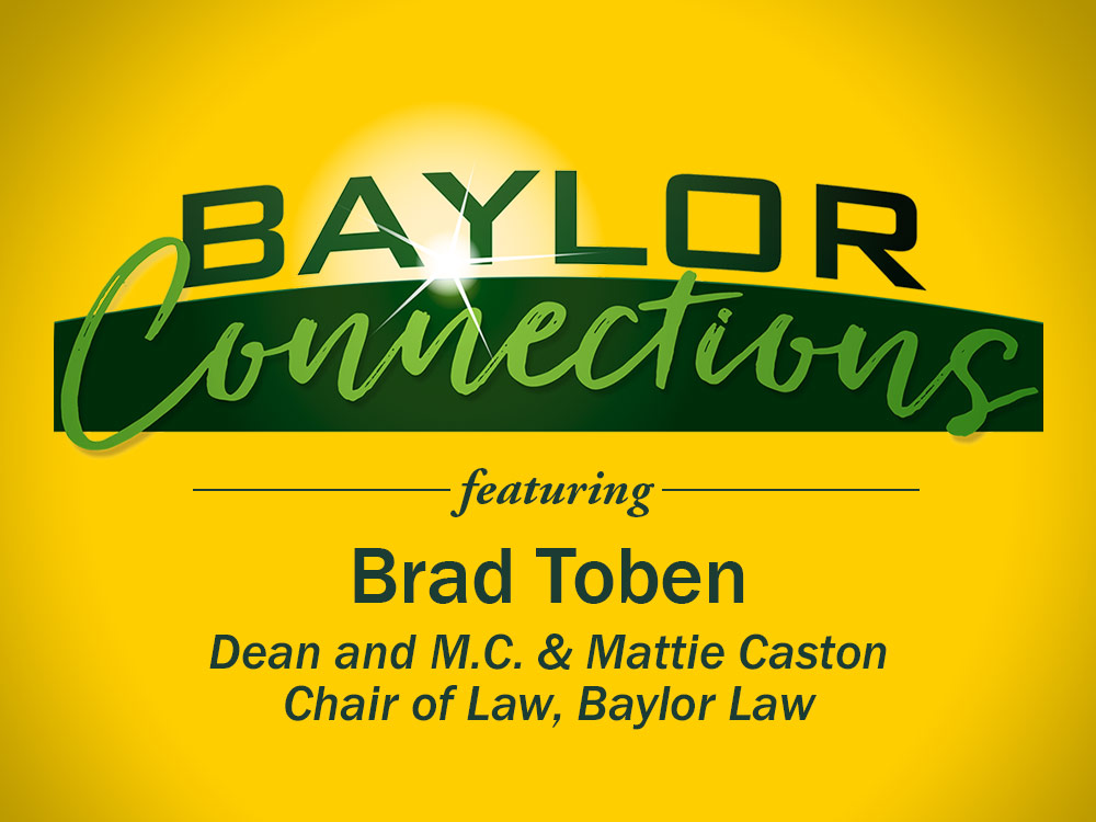 Baylor Law Dean Featured on KWBU-FM Radio Show