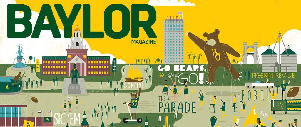 Baylor Magazine's Fall 2018 edition