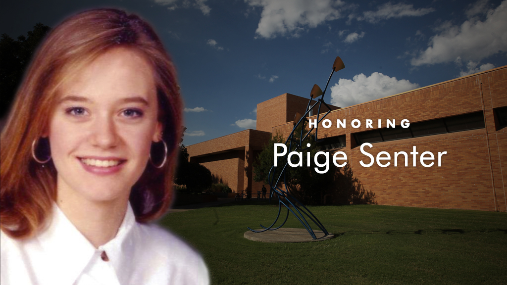 In Memory of Paige Senter