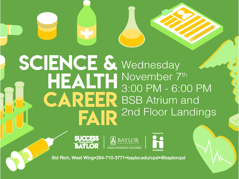 Science & Health Career Fair