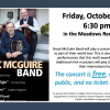 Brock McGuire Band in Concert October 26