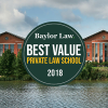 Baylor Law Ranks Fifth in the Nation as a Best Value Private Law School