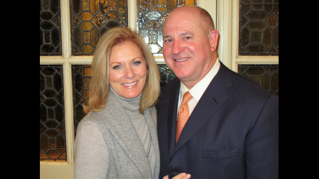 Mark and Jenni McCollum of Houston