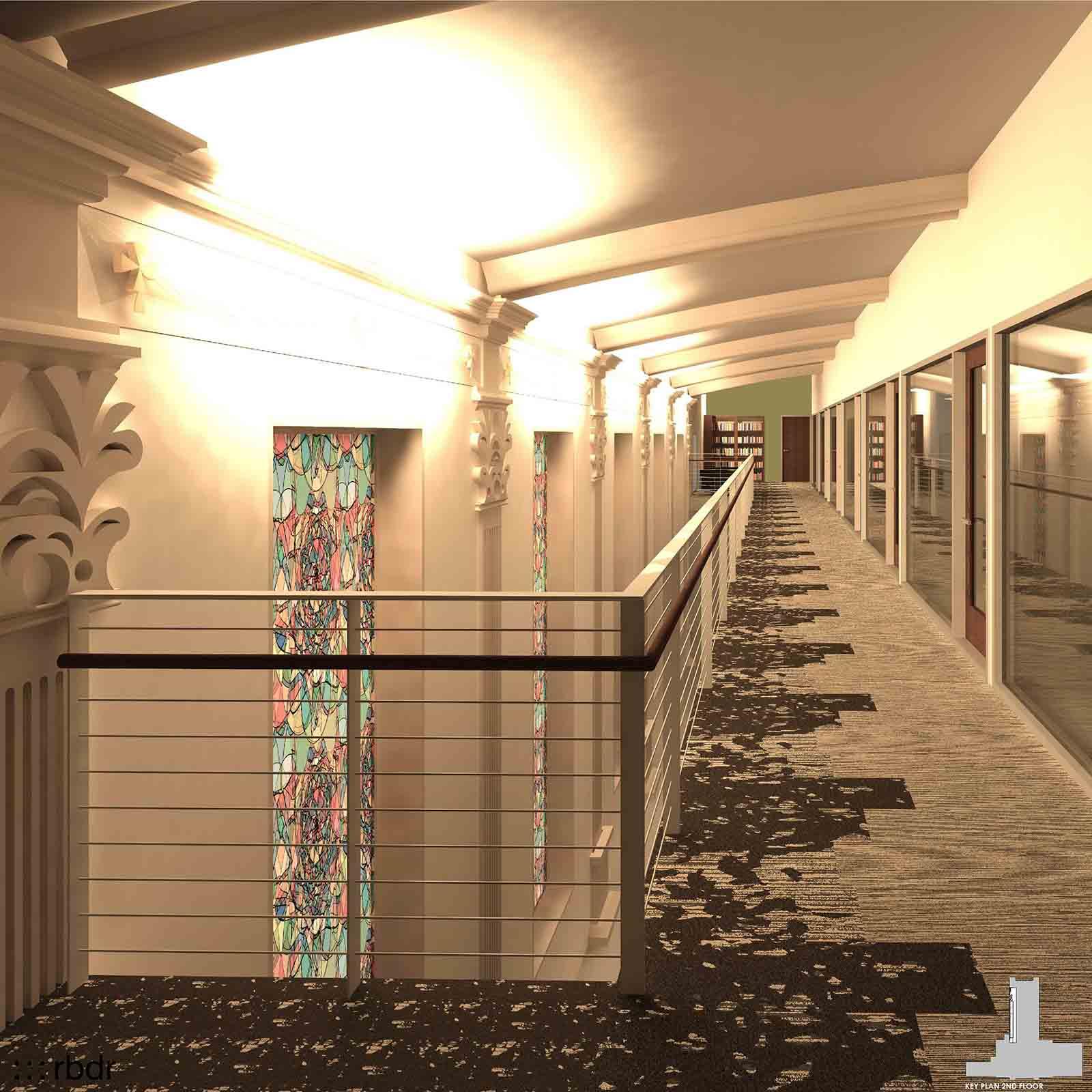 Tidwell Second Floor
