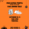 Phi Alpha Theta Book Sale, Oct. 30-31