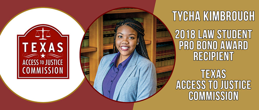 Tycha Kimbrough 2018 Pro Bono student Headshot