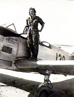 Photo of Woman Who Served in the Military