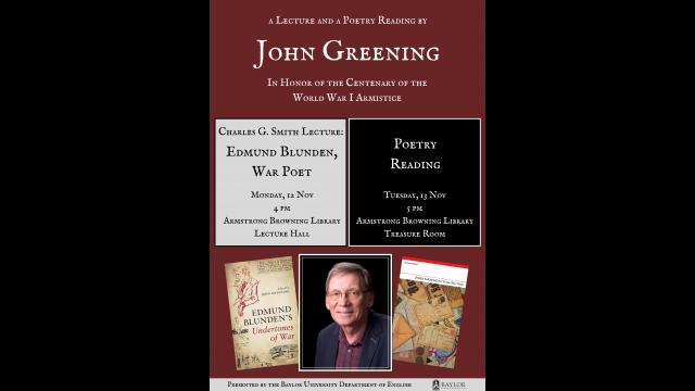 Greening poster