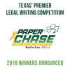 The Paper Chase Legal Writing Competition Winners Announced