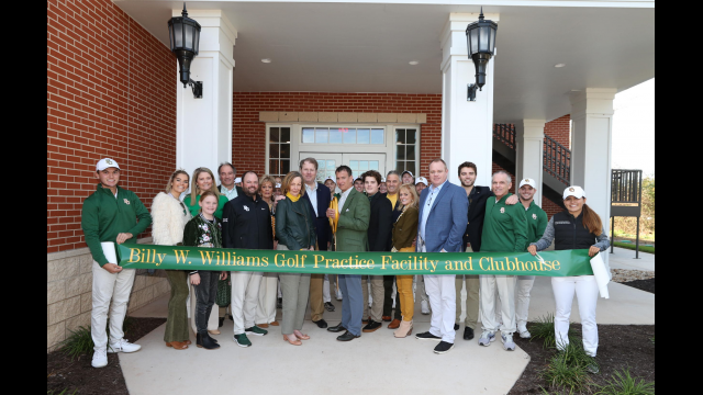 Williams Golf Practice Facility Ribbon Cutting