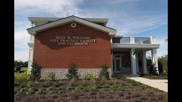 Williams Golf Practice Facility Name Terrace