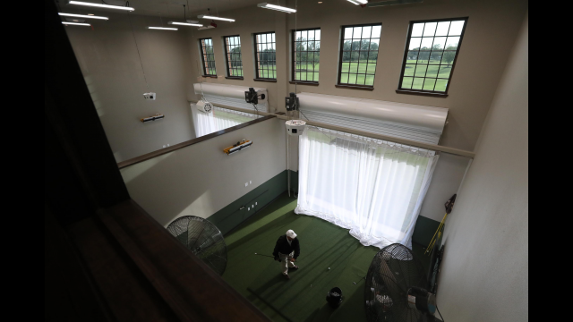 Williams Golf Practice Facility Indoor Hitting Bays
