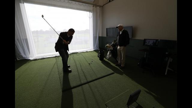 Williams Golf Practice Facility Indoor Hitting Bays2