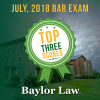 July Bar Exam Trifecta – Top Three Scorers are Baylor Law Grads
