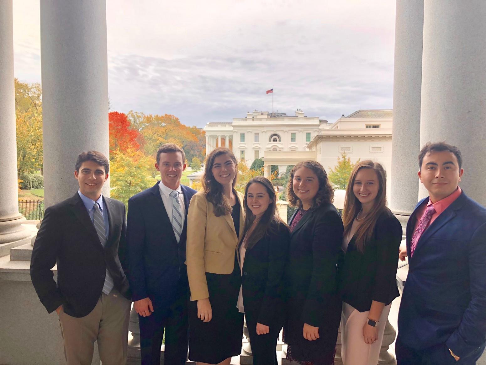 Students in the 2018-2020 Semester in Washington Program