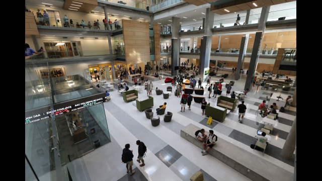 Paul L. Foster Campus Atrium