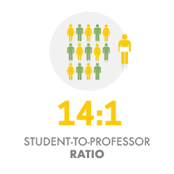 Student to Professor Ratio