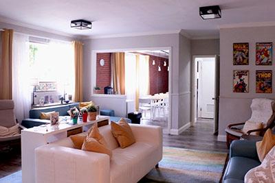 Cove living room