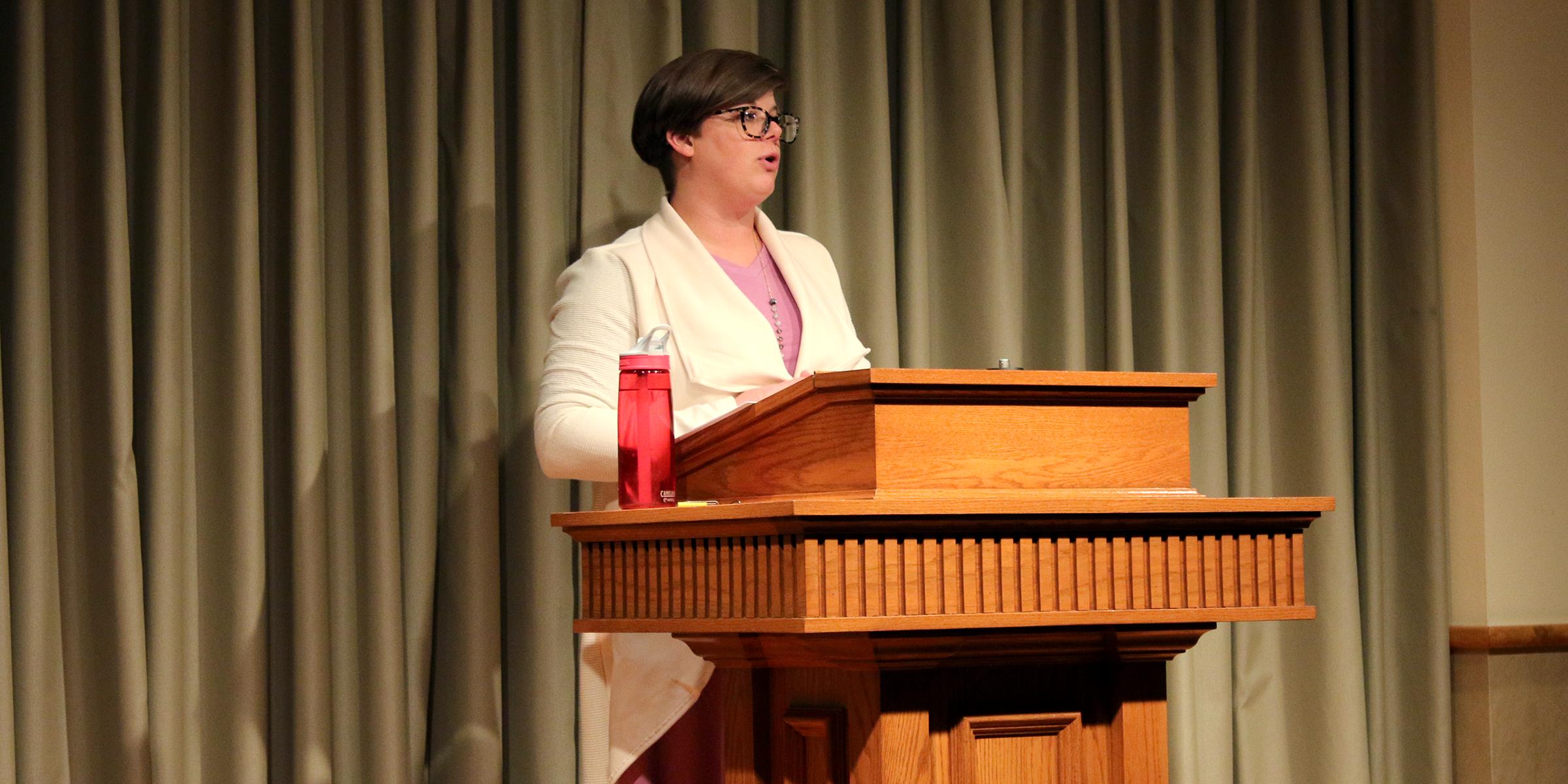 Michelle Shackelford Preaching