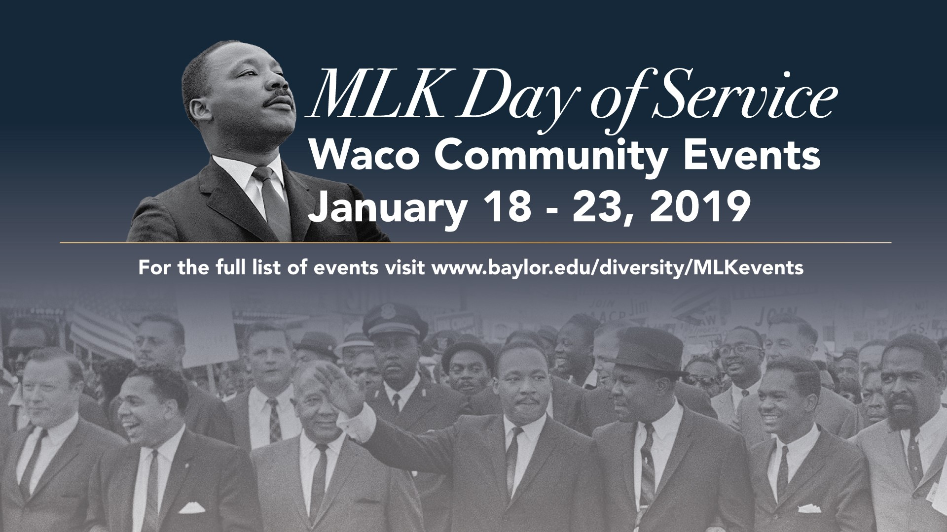 Waco Baylor Community Will Observe Dr Martin Luther King Jr Day