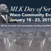 Waco, Baylor Community Will Observe Dr. Martin Luther King Jr. Day with Day of Service