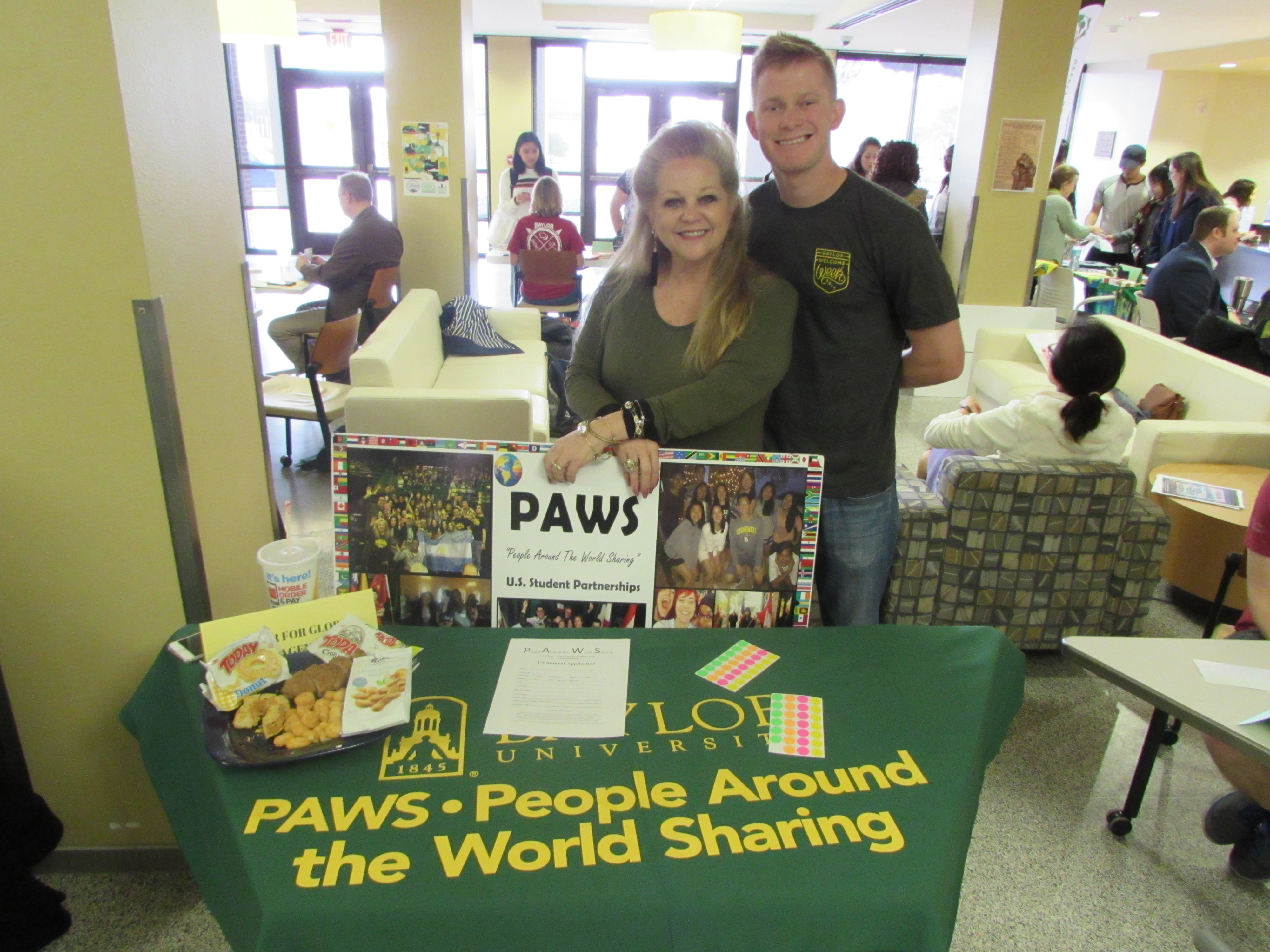 PAWS Program at a booth