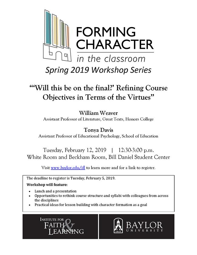 Flyer-IFL Character in Classroom 2019-02-12