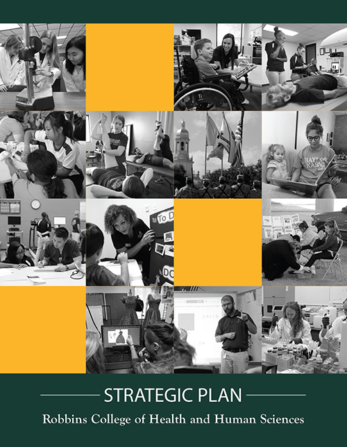 Robbins College Strategic Plan Document Cover and Link