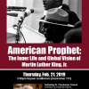 Black History Month Lecture - American Prophet: The Inner Life and Global Vision of Martin Luther King, Jr.