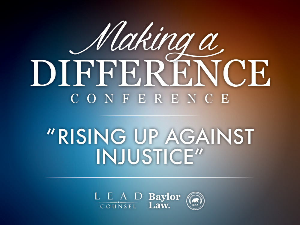 Lead Counsel to Host Third Annual Making a Difference Conference Feb. 15