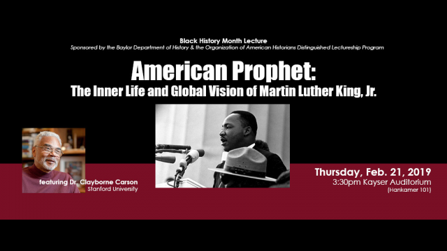 American Prophet Lecture