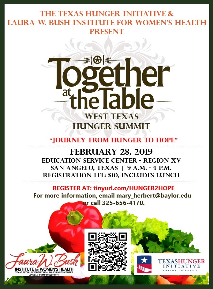 Together at the Table West Texas Hunger Summit