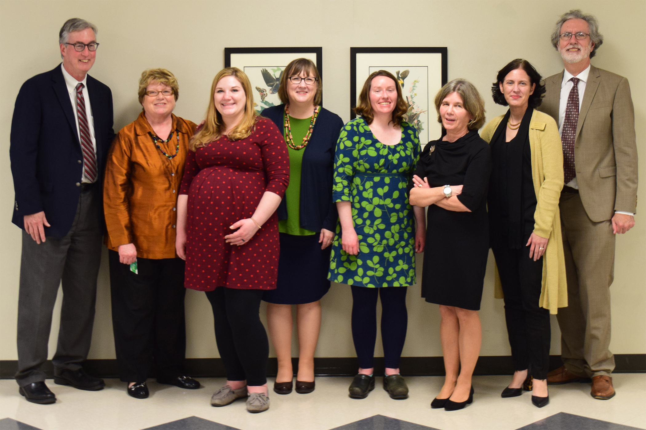 MST Faculty with Largent Lecturers Joan Baldwin and Anne Ackerson