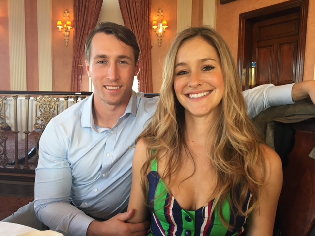 Sean Lee and Megan